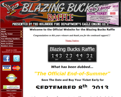 Blazing Bucks Raffle