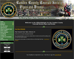 Camden County Emerald Society Pipes & Drums