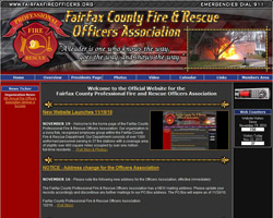 Fairfax County Professional Fire and Rescue Officers Association