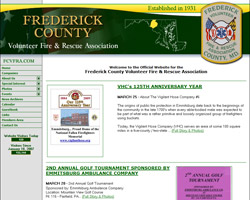 Frederick County Volunteer Fire & Rescue Association