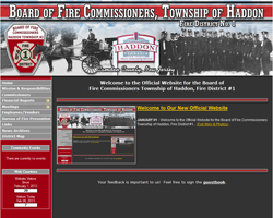 Haddon Township Board of Fire Commissioners, Fire District #1