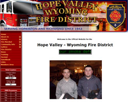Hope Valley Wyoming Fire District