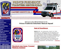Prince Frederick Volunteer Rescue Squad