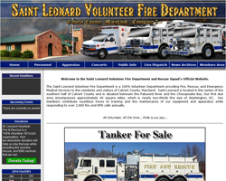 Saint Leonard Volunteer Fire Department & Rescue Squad
